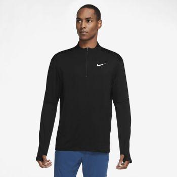 Nike DRI-FIT ELEMENT 1/2-ZIP RUNNING TOP, muška majica za trčanje, crna