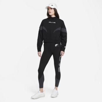 Nike AIR MOCK FLEECE, ženska košulja, crna