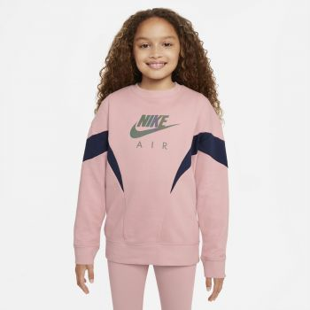 Nike AIR FRENCH TERRY SWEATSHIRT, dječja košulja, roza