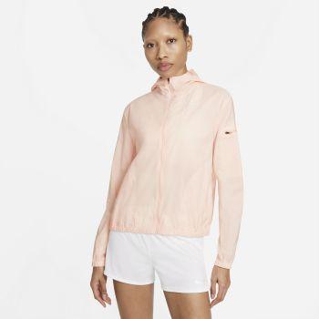 Nike IMPOSSIBLY LIGHT HOODED RUNNING JACKET, ženska majica za trčanje, roza