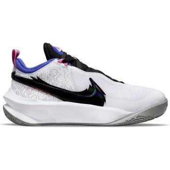 Nike TEAM HUSTLE D 10 SE (GS), dječje tenisice za košarku, bijela