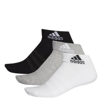 adidas CUSH ANK 3PP, muške čarape za fitnes, siva