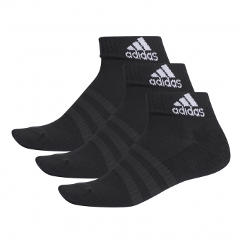 adidas CUSH ANK 3PP, muške čarape za fitnes, crna