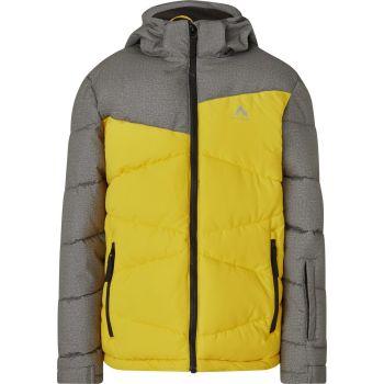 McKinley EGON JRS, dječja skijaška jakna, žuta
