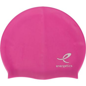 Energetics CAP SIL JR, dječja kapa za plivanje, roza