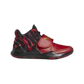 adidas DEEP THREAT J, dječje tenisice za košarku, crvena