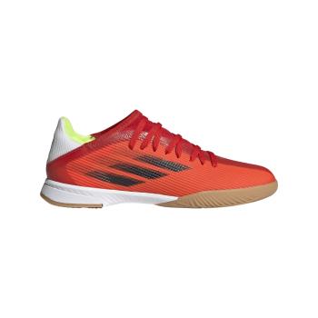 adidas X SPEEDFLOW.3 IN J, dječje tenisice za nogomet, crvena