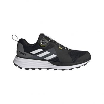 adidas TERREX TWO BOA, muške tenisice za trail trčanje, crna