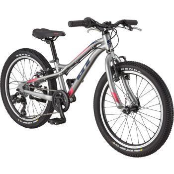 GT STOMPER PRIME 20, dječji bicikl, srebrna