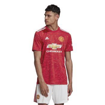 adidas MUFC H JSY, muški nogometni dres, crvena