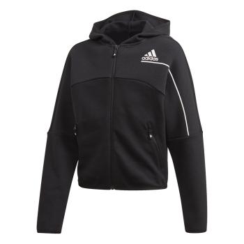 adidas G ZNE FZ, dječja jakna za fitnes, crna