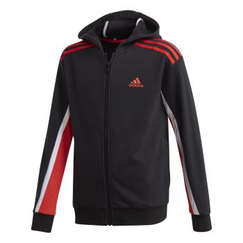 adidas B BOLD FZ HD, dječja jakna za fitnes, crna