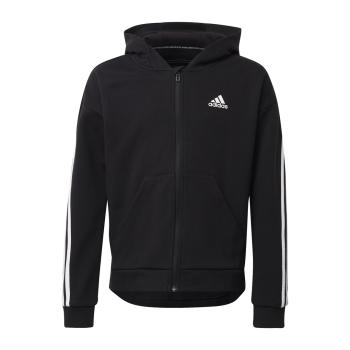 adidas G 3S FZ HD, dječja jakna za fitnes, crna
