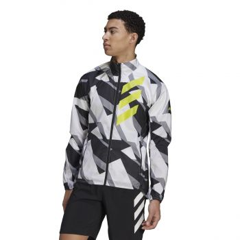 adidas AGR WIND JKT, muška jakna, bijela