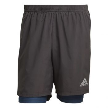 adidas OWN THE RUN SHO, muške kratke hlače za trčanje, siva