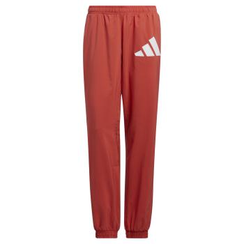 adidas WOVEN BOS PANT, ženske hlače trenirka, crvena