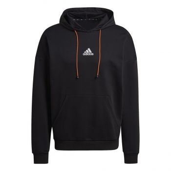 adidas M SPC HOOD, muški pulover, crna