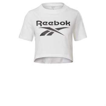 Reebok TE CROP TEE, majica, bijela