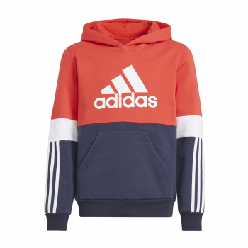 adidas B CB FL HD, dječji pulover, crvena