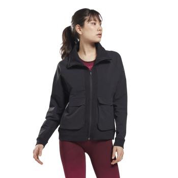 Reebok TS UBF JACKET, ženska jakna za fitnes, crna