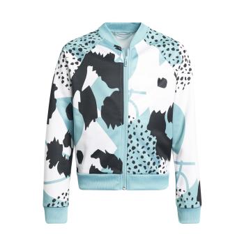 adidas G AR GR TTOP, dječja jakna za fitnes, bijela