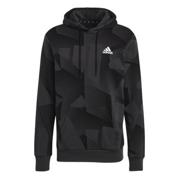 adidas M SI GFX 3B OH, muški pulover, višebojno
