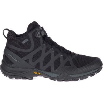 Merrell SIREN 3 MID GTX, ženske cipele za planinarenje, crna
