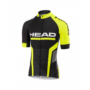 Head JERSEY TEAM, muška majica za biciklizam, crna