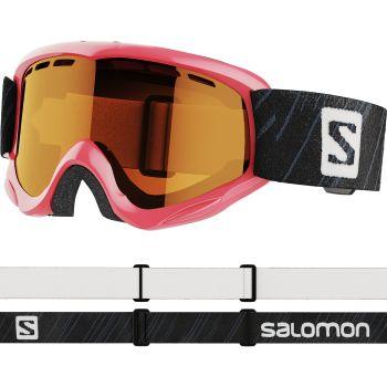 Salomon JUKE ACCESS, dječje skijaške naočale, roza