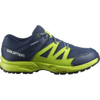 Salomon HUAPI CSWP J, cipele za planinarenje, plava