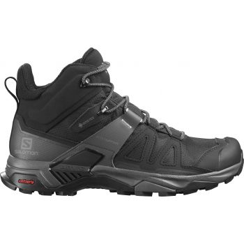 Salomon X ULTRA 4 MID GTX, muške cipele za planinarenje, crna