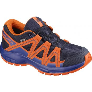 Salomon KICKA J CSWP, cipele za planinarenje, plava