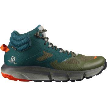 Salomon PREDICT HIKE MID GTX, muške cipele za planinarenje, zelena