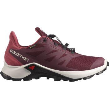 Salomon SUPERCROSS 3 GTX W, ženske tenisice za trail  trčanje, crvena