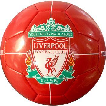 Barcelona FC LIVERPOOL LOGO, nogometna lopta, crvena