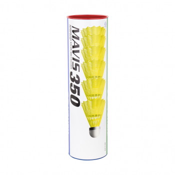 Yonex MAVIS 350 FAST 6/1, loptica za badminton, žuta