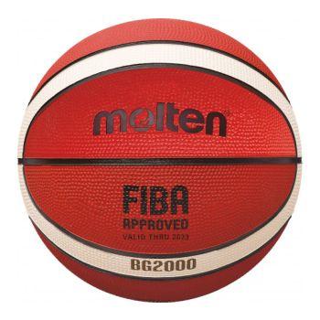 Molten B5G2000, košarkaška lopta, narančasta