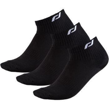 Pro Touch NEW LJUBLJANA 3-PACK UX, muške čarape za trčanje, crna