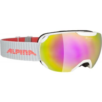 Alpina PHEOS S HM, skijaške naočale, bijela