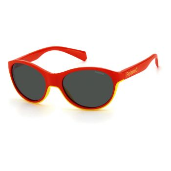 Polaroid PLD 8042/S, dječje naočale, crvena