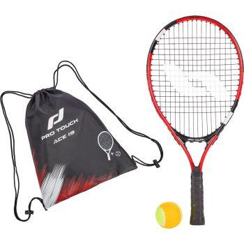 Pro Touch ACE 19 W/BAG, dječji reket za tenis, crna