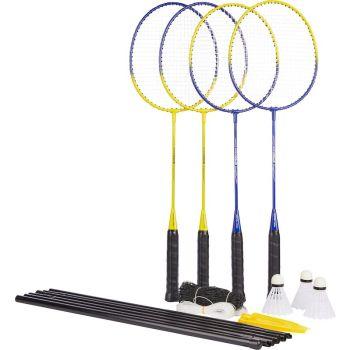 Pro Touch SPEED 100 - 4 PLY NET SET, set badminton, žuta