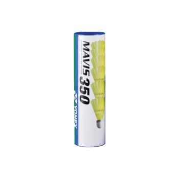 Yonex MAVIS 350 MIDDLE 6/1, loptica za badminton, žuta