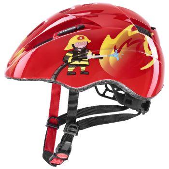 Uvex KID 2, dječja biciklistička kaciga, crvena