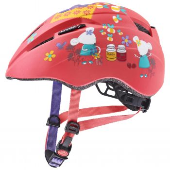Uvex KID 2 CC, dječja biciklistička kaciga, crvena