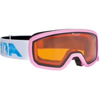 Alpina SCARABEO JR. DH, dječje skijaške naočale, roza