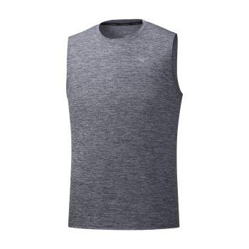 Mizuno IMPULSE CORE SLEEVELESS, muška majica za trčanje, siva
