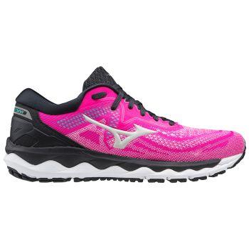 Mizuno WAVE SKY 4, ženske tenisice za trčanje, roza