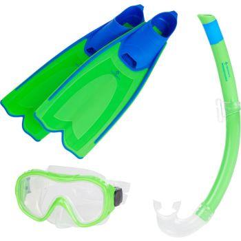 Tecnopro ST3 3 KIDS, set ronilački, zelena