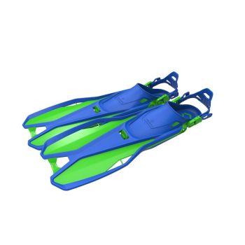 Tecnopro F6 C TRAVEL JR, dječje peraje, plava